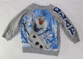 Disney Olaf Grey Sweatshirt 24 Months - $9.99