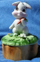 Lefton Porcelain Bunny Box - $14.00
