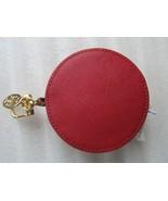 Tory Burch Key fob Purse Charm Circle Coin Bag Pouch York Color-Block Ne... - $74.25