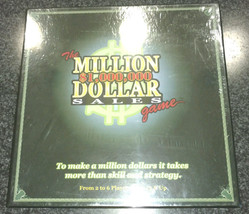 The Million Dollar Sales $1,000,000 Game Board Game 2007 New Factory Sealed - $13.99