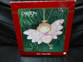"Carlton Cards Heirloom Collection ""Mom Angel"" 1998 Ornament NEW - $22.03"