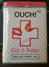 OUCH KISS IT BETTER Deluxe First Aide Kit Bandages - Plasters - $14.65