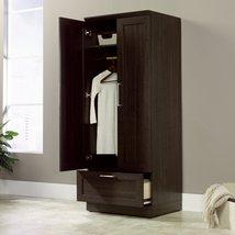 Wardrobe Homeplus Sauder Oak Dakota Cabinet Sto... - $294.99