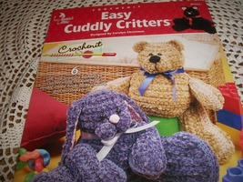 Crochenit Easy Cuddly Critters - $7.00