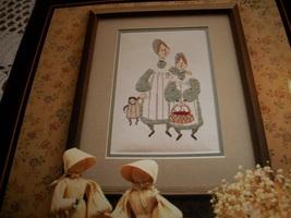 P Buckley Moss~Sisters Cross Stitch Chart - $6.00