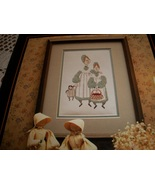 P Buckley Moss~Sisters Cross Stitch Chart - $5.00