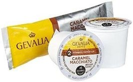 Gevalia Caramel Macchiato 2-Step K-Cup & Froth Packets (24 Count) - $24.72