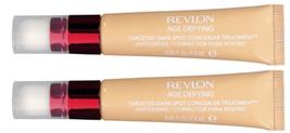 (2-Pack) Revlon Age Defying Targeted Dark Spot Concealer, Medium 03 - $32.65