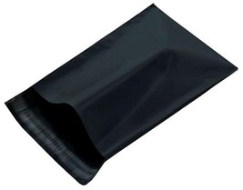 500 10x13 Black Poly Mailer Plastic Bag Envelopes Polybags Polymailer - $39.99