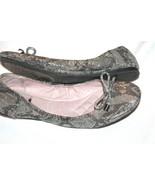 VINCE CAMUTO Ferguson Silver Snake Ballet Flats Shoes Size 8 B - $27.72
