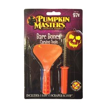 Pumpkin Masters Halloween Bare Bones Carving Tools Scoop & Saw - $3.99