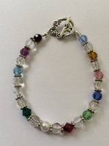 Birthstone Monthly Crystal  Bracelet - $26.99