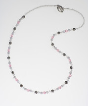Birthstone Pearl and Silver Necklace - $20.00