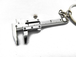 Newly Key Chain Metal Movable Vernier Caliper R... - $0.99