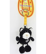 "NICI Cat Black Dice Animal Plush Stuffed Toys Bean Bag Key Chain Keyring 4"" - $6.99"