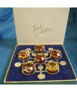 AVON Vintage 1964 JEWEL COLLECTION Set of 6 Retired Miniature Perfume Oils  - $29.20