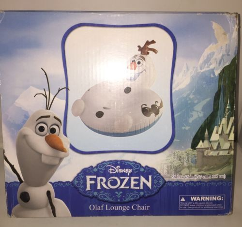 Awe Inspiring Disney Frozen Olaf Inflatable Lounge Chair And 50 Similar Items Andrewgaddart Wooden Chair Designs For Living Room Andrewgaddartcom