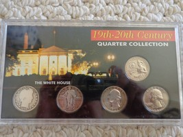 19TH – 20TH Century Quarter Collection Set. (#1468) - $43.99