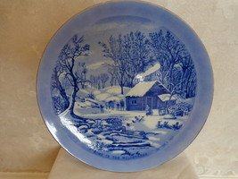 """""""A HOME IN THE WILDERNESS"""" COLLECTOR'S PLATE by CURRIER & IVES. (1469) - $7.99"""