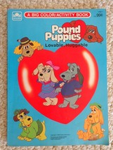 Book: Pound Puppies a Big Color/Activity Book. Copyright 1986 (#1511) - $9.99