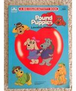 Book: Pound Puppies a Big Color/Activity Book. Copyright 1986 (#1511) - £8.02 GBP