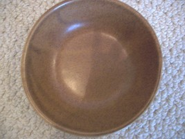 Brown Serving Bowl, Heavy from Monmouth, Illino... - $18.99