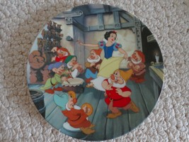 Collectible Plate The Dance of Snow White and the Seven Dwarf's (#1205) - $23.99