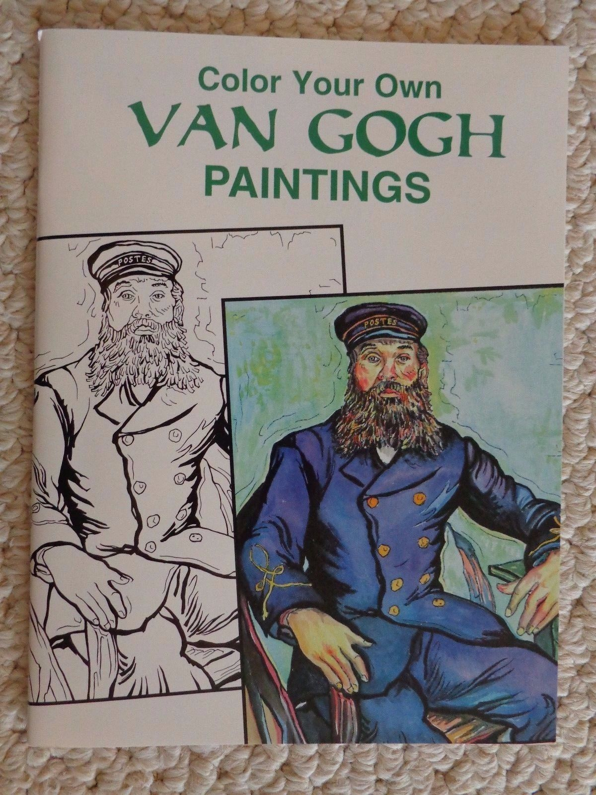 Primary image for Dover Art Coloring Book: Color Your Own Van Gogh Paintings Marty Noble (#1336)