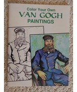 Dover Art Coloring Book: Color Your Own Van Gogh Paintings Marty Noble (... - $5.99