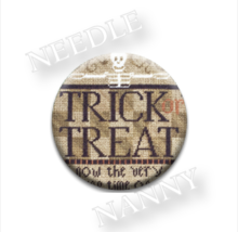 Trick or Treat Needle Nanny needle minder cross... - $12.00