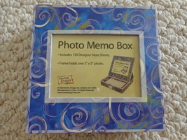 New  PHOTO & NOTE MEMO BOX (#0194) - $7.99