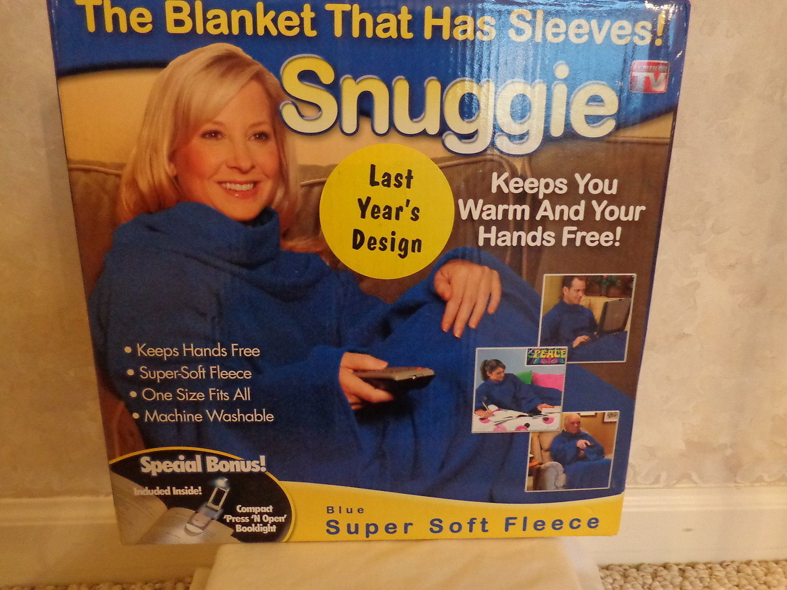 Snuggie, The Blanket That Has Sleeves with and 50 similar items