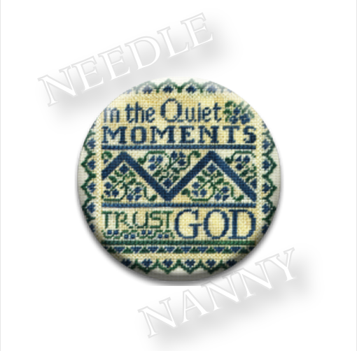 Quiet Moments Needle Nanny needle minder cross stitch Erica Michaels