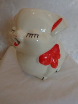 Vintage Ceramic Pig-Shaped Creamer (#1571) - $15.99