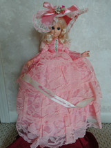Vintage Goldberger Hearts and Flowers Musical Doll NIB (#602) - $65.99