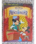 The Prince & The Pauper, Walt Disney (ISBN: 033500711008) A Golden Book ... - £3.20 GBP