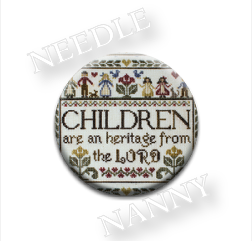 From The Lord Needle Nanny needle minder cross stitch Erica Michaels