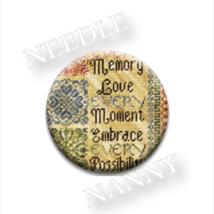 Every Moment Needle Nanny needle minder cross stitch Erica Michaels  - $12.00