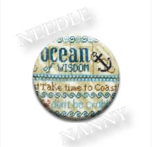 Ocean of Wisdom Needle Nanny needle minder cross stitch Erica Michaels  - $12.00