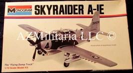 Skyraider A-1E 6807-0105 Monogram 1967 & 1973 Copyright   - $15.75