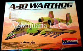 A-10 Warthog 1/72 5430-0100 Monogram 1979 & 1983 Copyright - $8.75