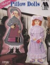 Antique Pillow Dolls, Annie's Attic Plastic Canvas Pattern Booklet 87920... - $12.95
