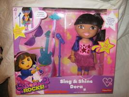 Dora Sing & Shine-Fisher Price - $14.00