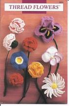 Thread Flowers Crochet Pattern~Annie's~Dated 1990~RARE HTF - $19.99