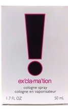 Exclamation By Coty For Women. Cologne Spray 1.7 Oz … - $9.49