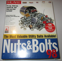 McAfee Nuts & Bolts 98 - Software - Vintage CD-... - $11.19