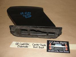 OEM 68 Cadillac Eldorado CENTER DASH A/C HEATER VENT DUCT - $49.99