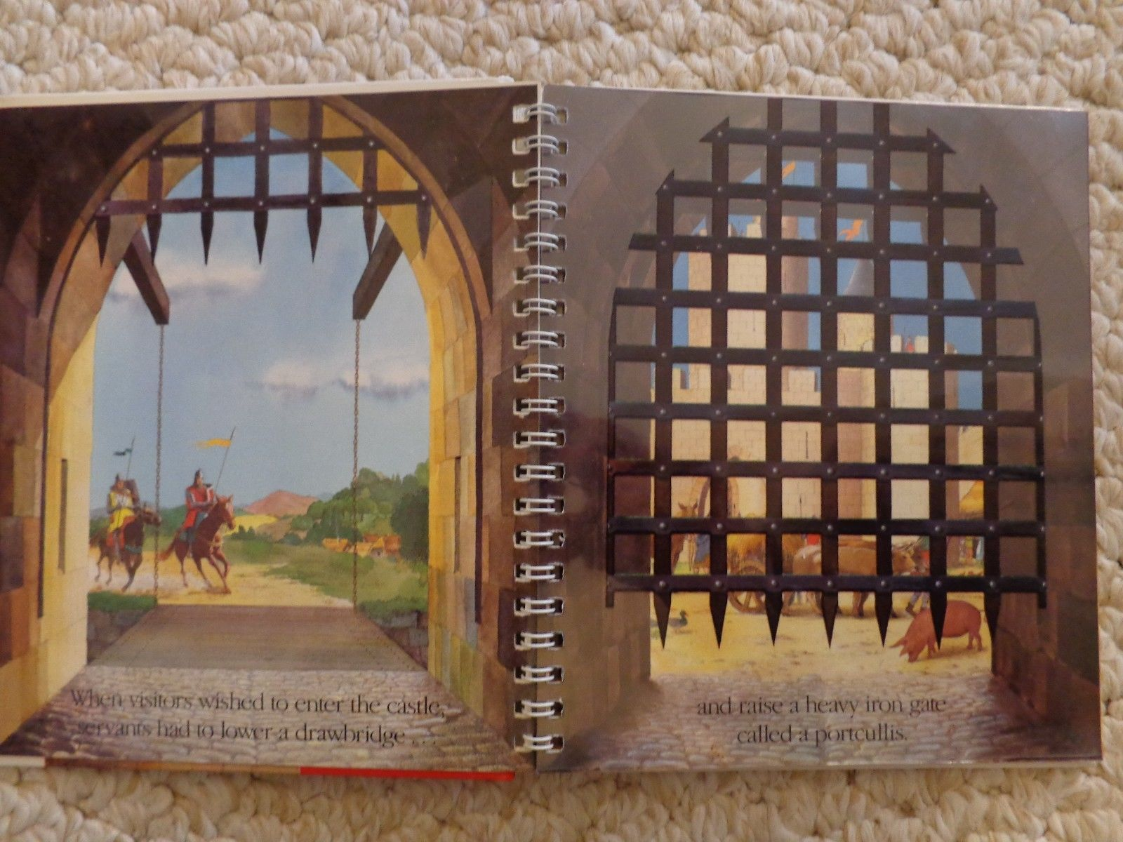 Book: Castles by Scholastic, A First Discovery Book (#1498)