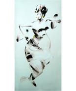 24x47 inch Acrylic Painting Original Hand Paint... - $100.00