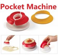 Dumpling Maker Mini Ravioli Pie Mould Dough Presser Pastry Tool Pocket K... - $9.99